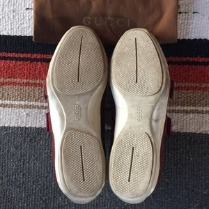 Gucci Shoes - Authentic Gucci Women's Low-Top GG Web Sneakers